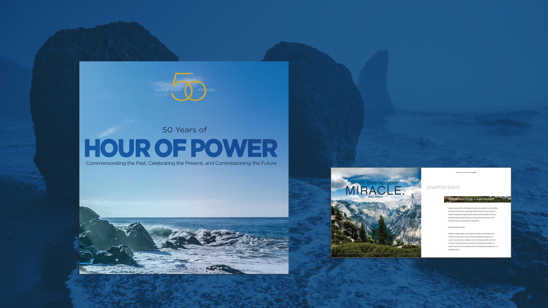 50 Years Of Hour Of Power Coffee Table Book Hour Of Power Australia